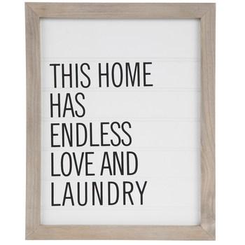 Endless Love & Laundry Wood Wall Decor | Hobby Lobby