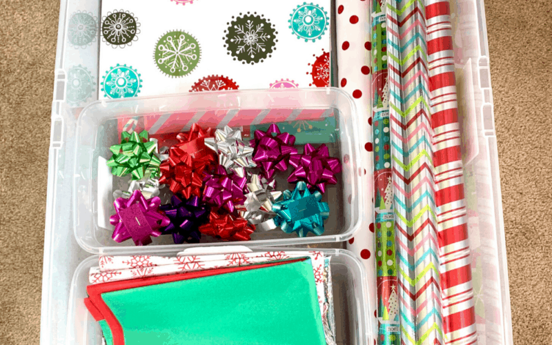 14 Wrapping Paper Storage & Organization Ideas