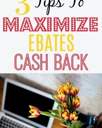 Maximize cash back earnings with Ebates. Make money by shopping online for free. Pin now & save for later!