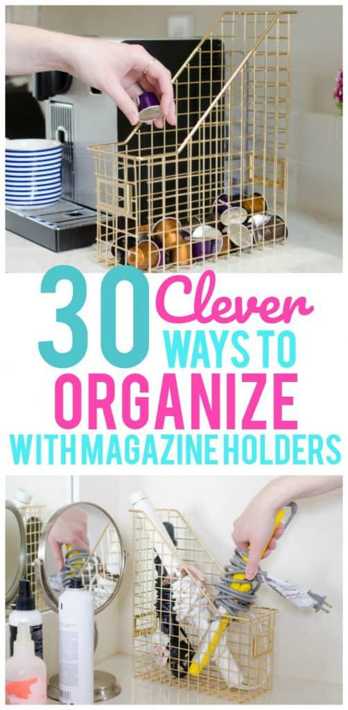 Tiny Home Designs: 30 Clever Ways To Organize With Magazine Holders