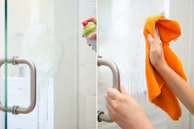 11 Hacks To Keep Your Shower Doors Clean Organization