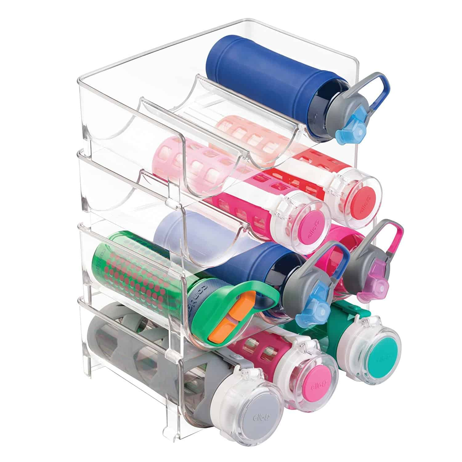 Stackable Water Bottle Storage Rack