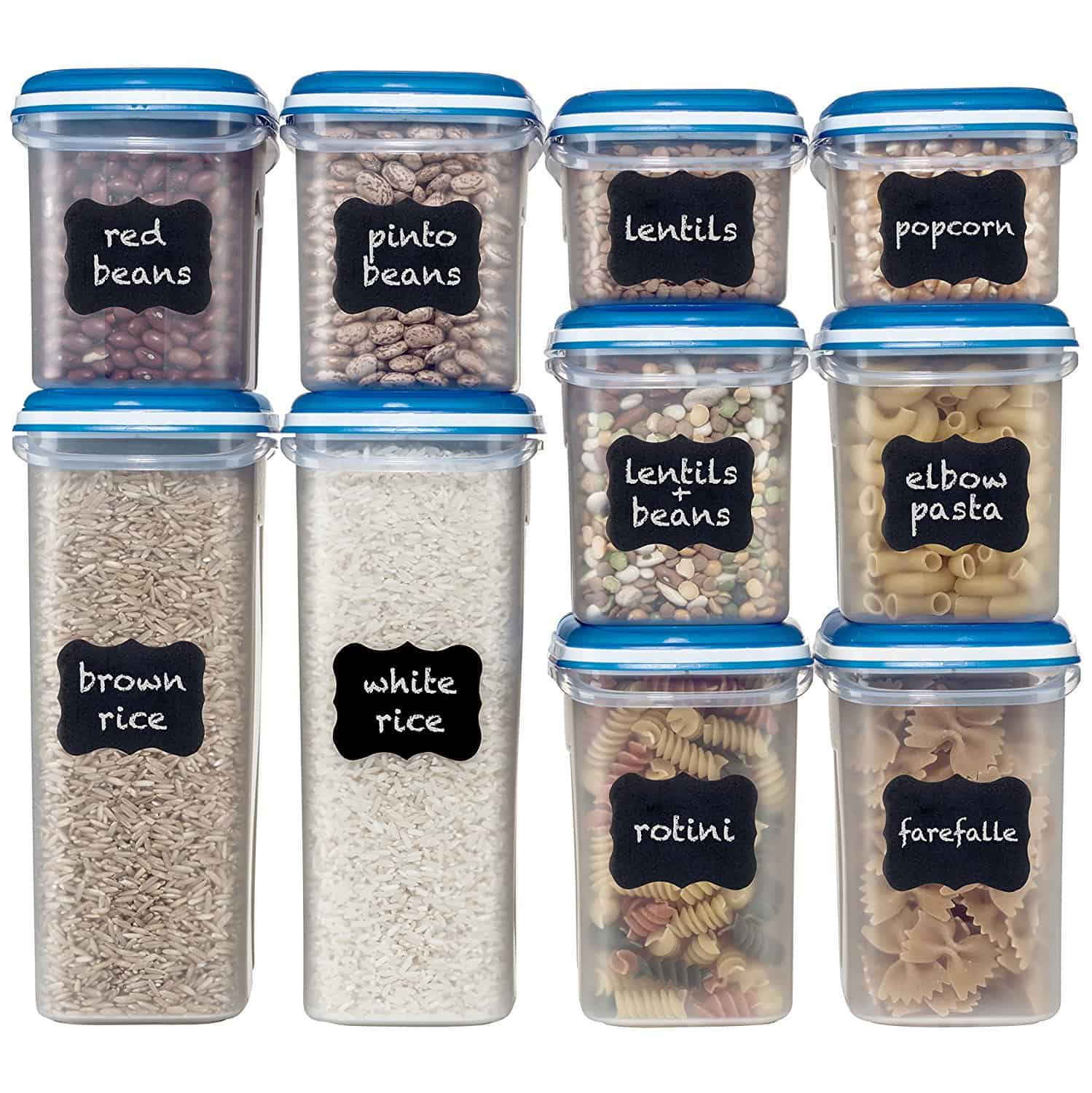 Food Storage Containers, Pantry Organizing Containers