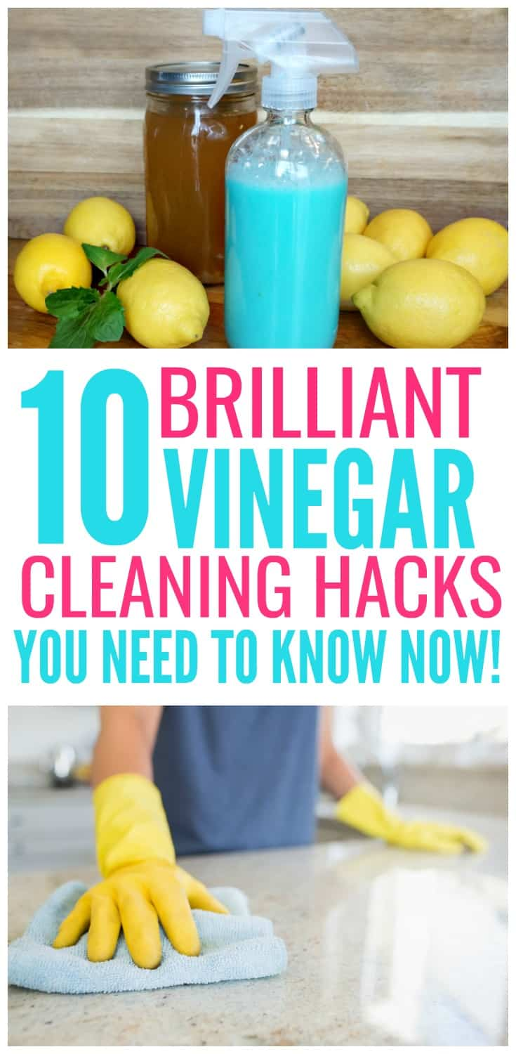 10 Vinegar Hacks You'll Wish You Knew Sooner