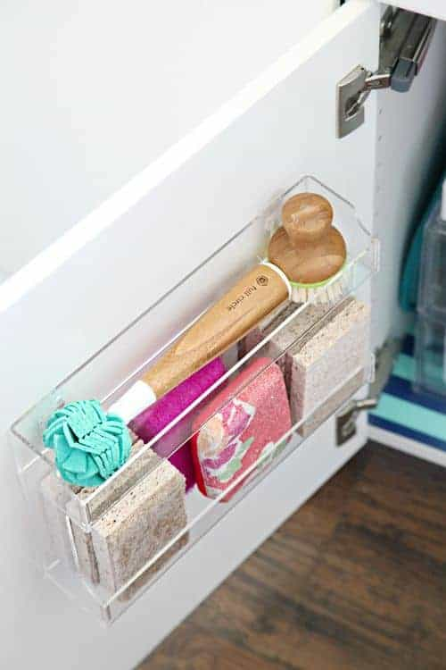15 Genius Under The Kitchen Sink Organization Ideas - Organization Obsessed