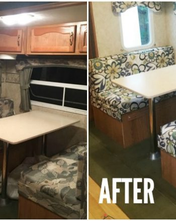How To Reupholster Camper Cushions The Easy Way