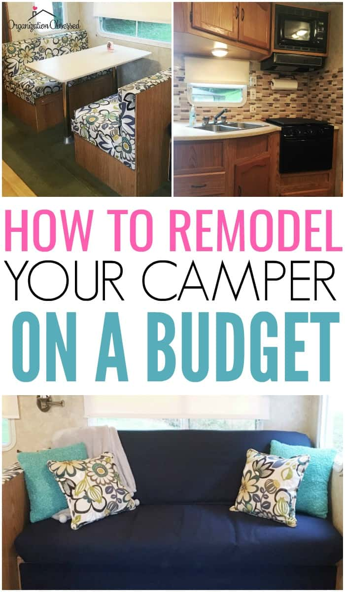 Our Camper Remodel Organization Obsessed