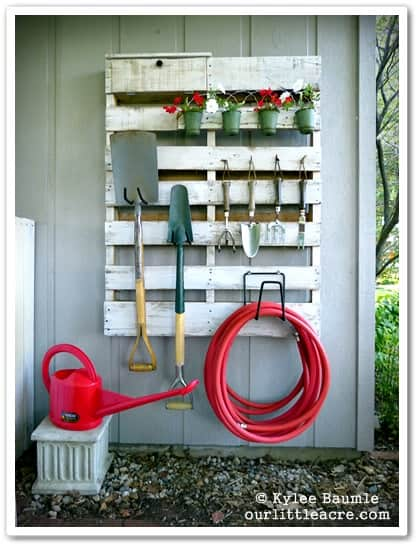 14 Backyard Storage Ideas for an Organized Backyard!