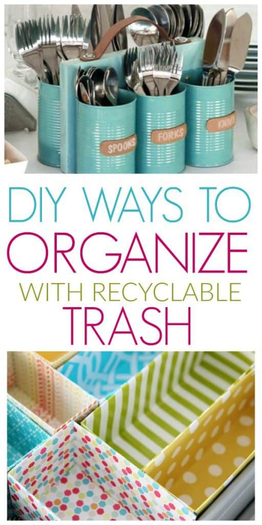 110 DIY Ways To Organize Your Home With Recycled Items