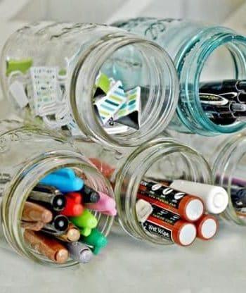 Mason Jar Organization Ideas You Must See