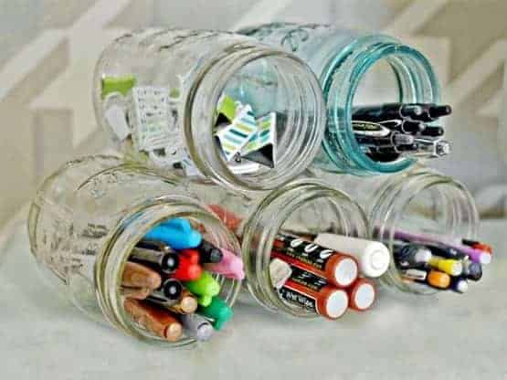 Mason Jar Organization Ideas You Must See