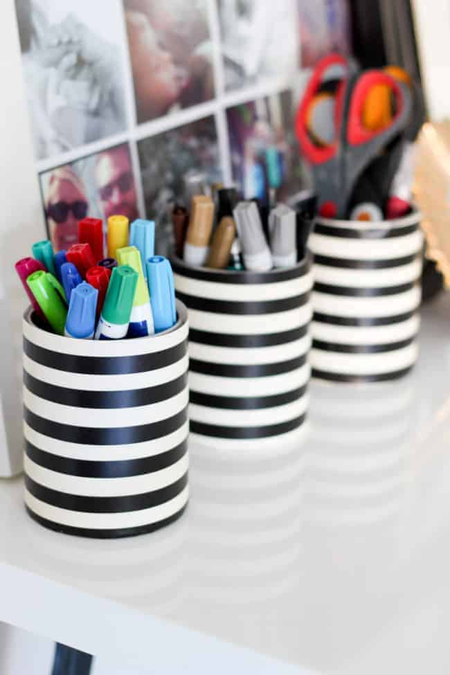10 DIY Ways To Organize With Recyclable Items