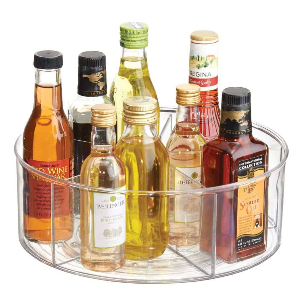 Lazy Susan Kitchen Organizer for less than $20