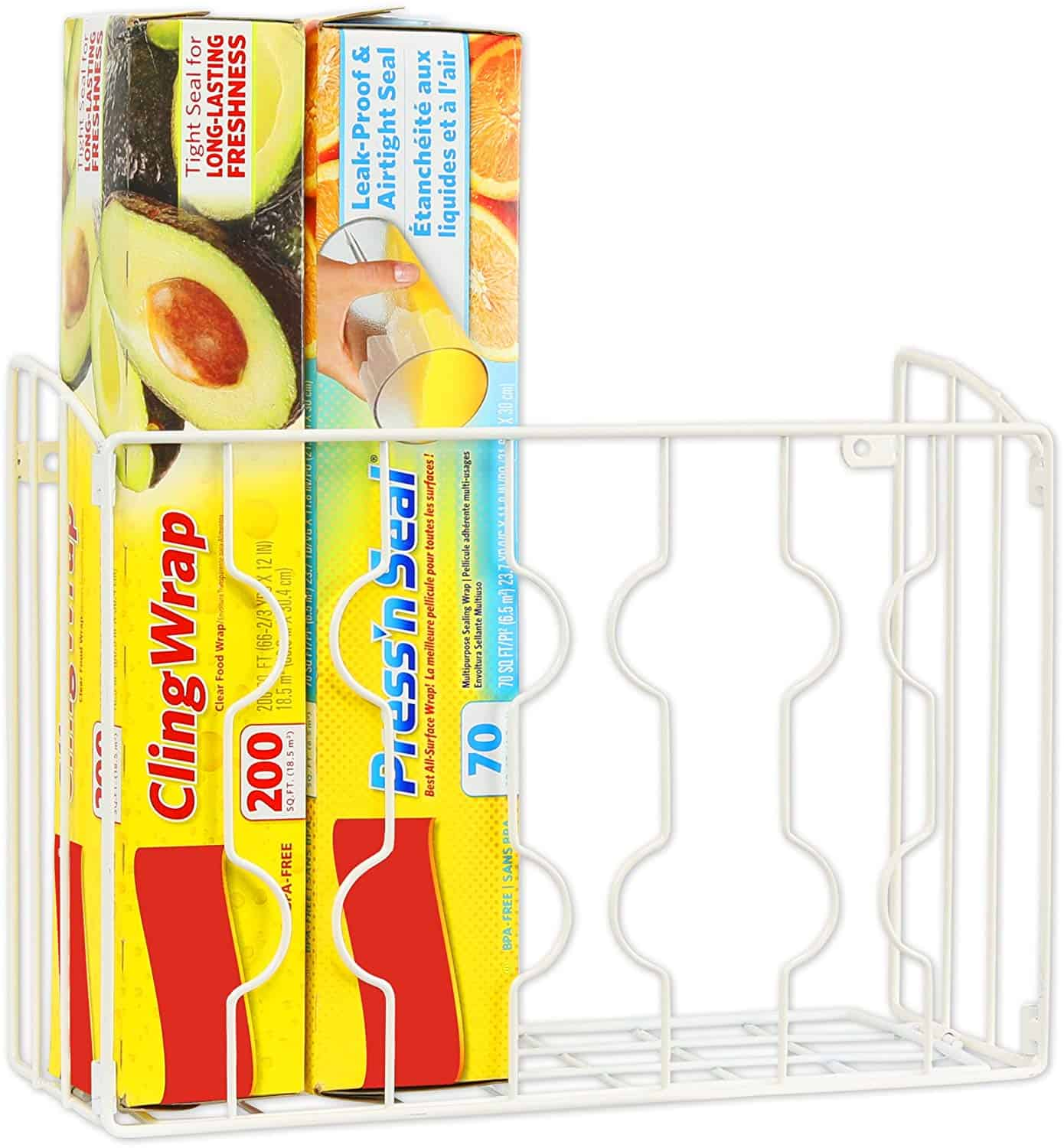 Cling Wrap Kitchen Organizer for less than $20