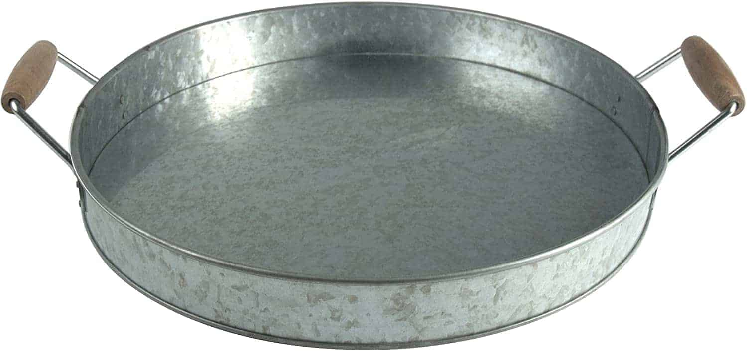Galvanized Party Tray