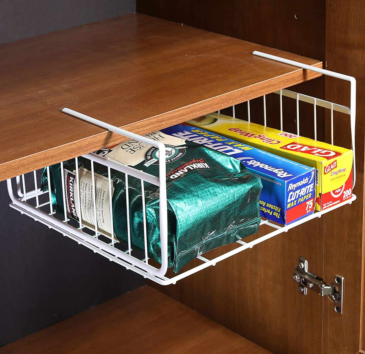 Under the cabinet Kitchen Organizer for less than $20
