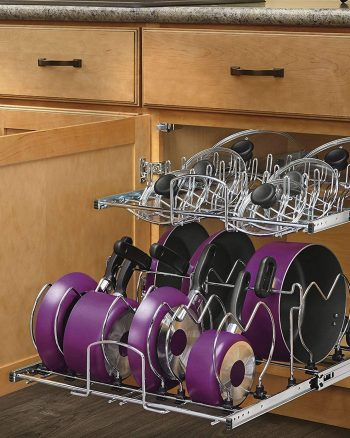 11 Genius Ways To Organize Pots & Pans
