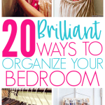20 Brilliant Ways To Organize A Bedroom