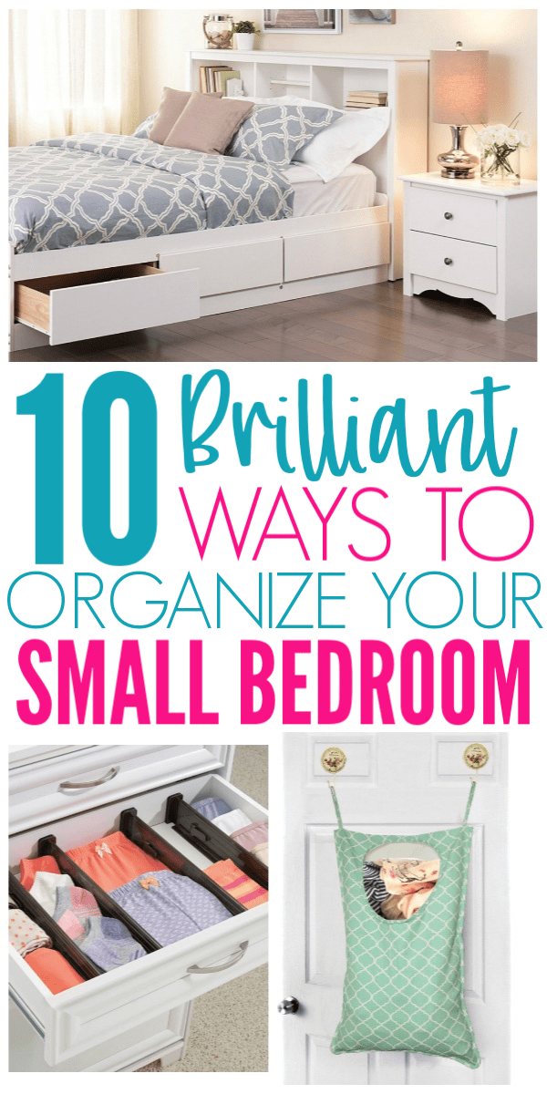 40 Amazon Finds That Will Organize Your Small Bedroom Organization Beauteous Organizing A Small Bedroom