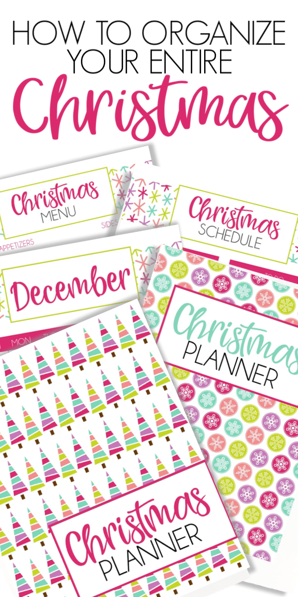 Get Organized With A Christmas Planner