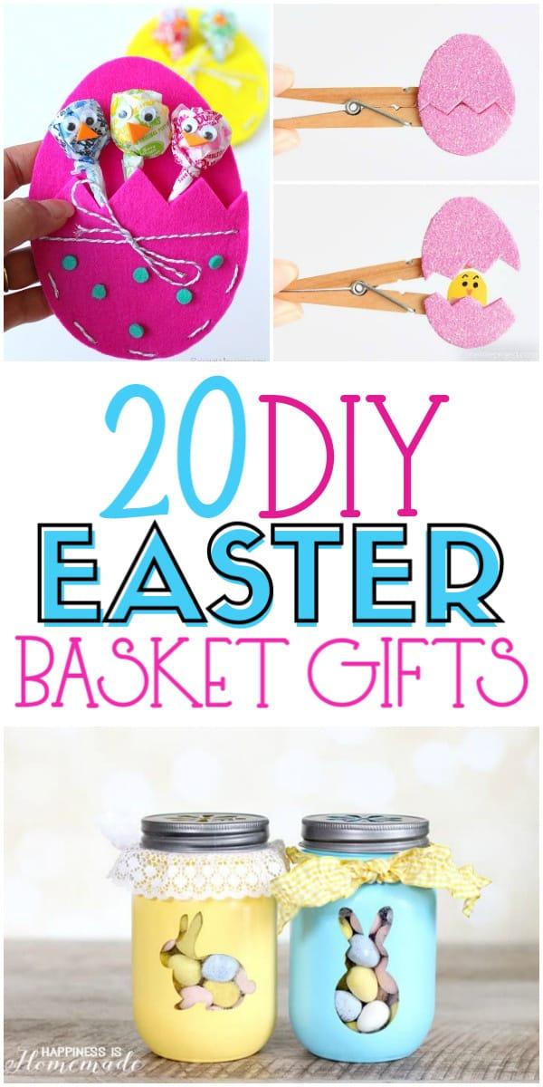 20 DIY Easter Basket Gifts