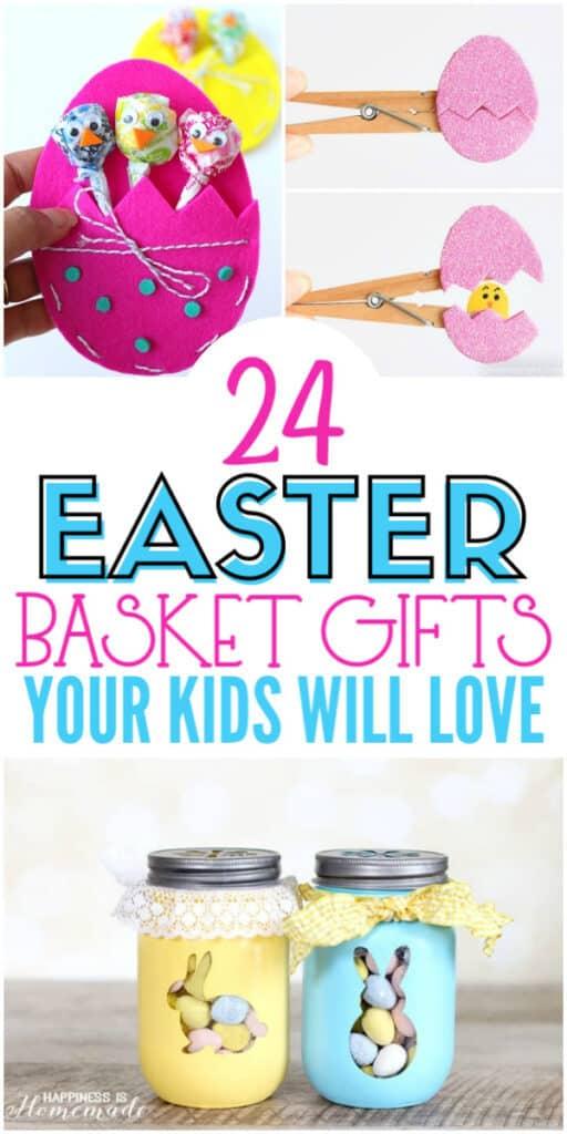 24 DIY Easter Basket Gifts