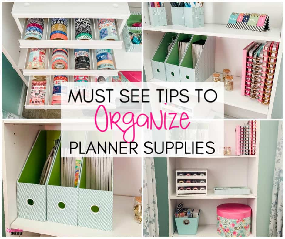 graphic about Planner Supplies titled How In direction of Arrange Planner Materials - Business Obsessed