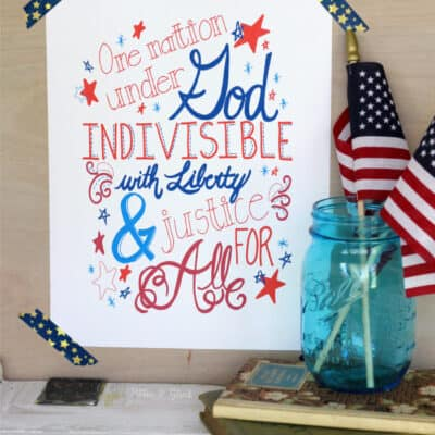 Patriotic Party Ideas for Memorial Day & 4th Of July