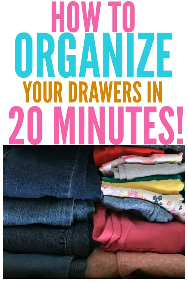 How To Organize Drawers in 20 Minutes