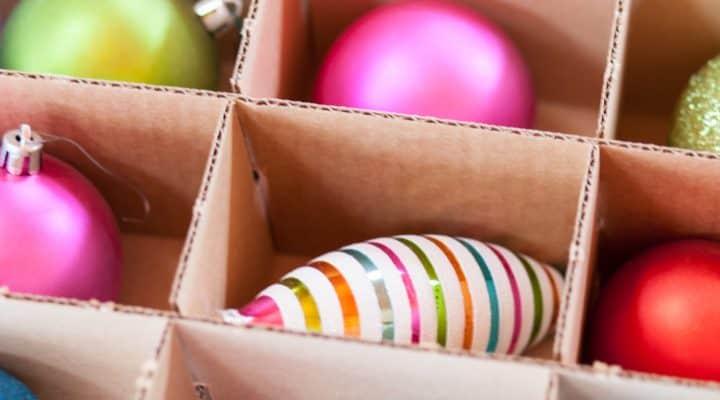 Brilliant Ideas For Organizing Christmas Decorations