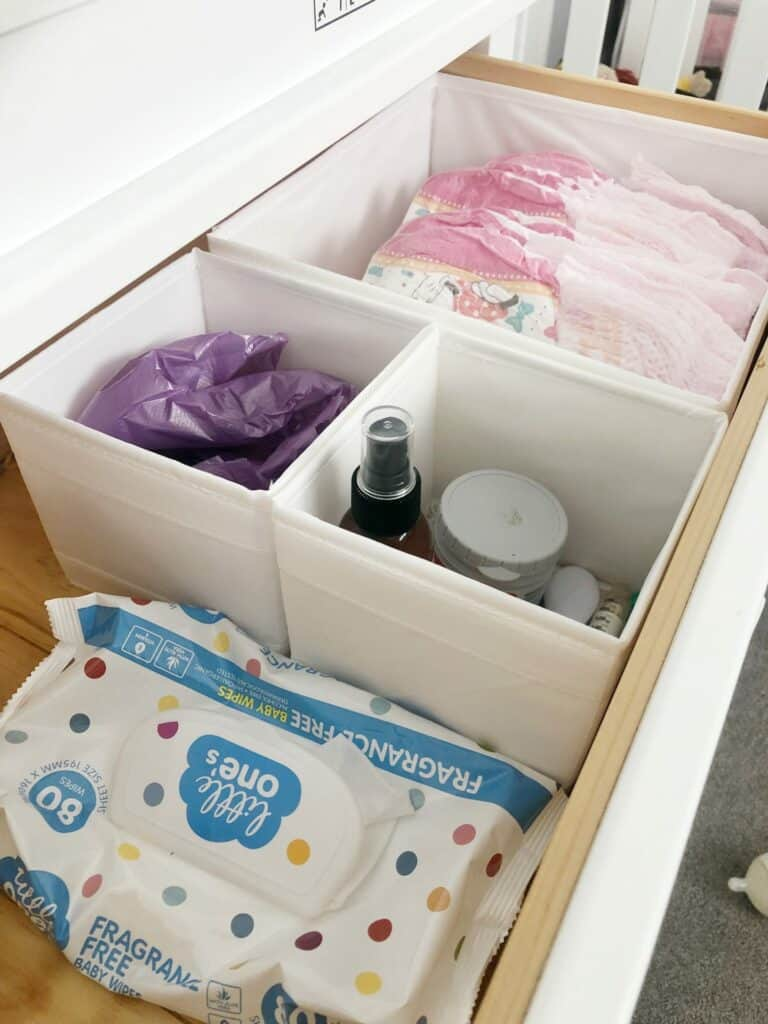 Ikea organizing hacks drawer strorage containers