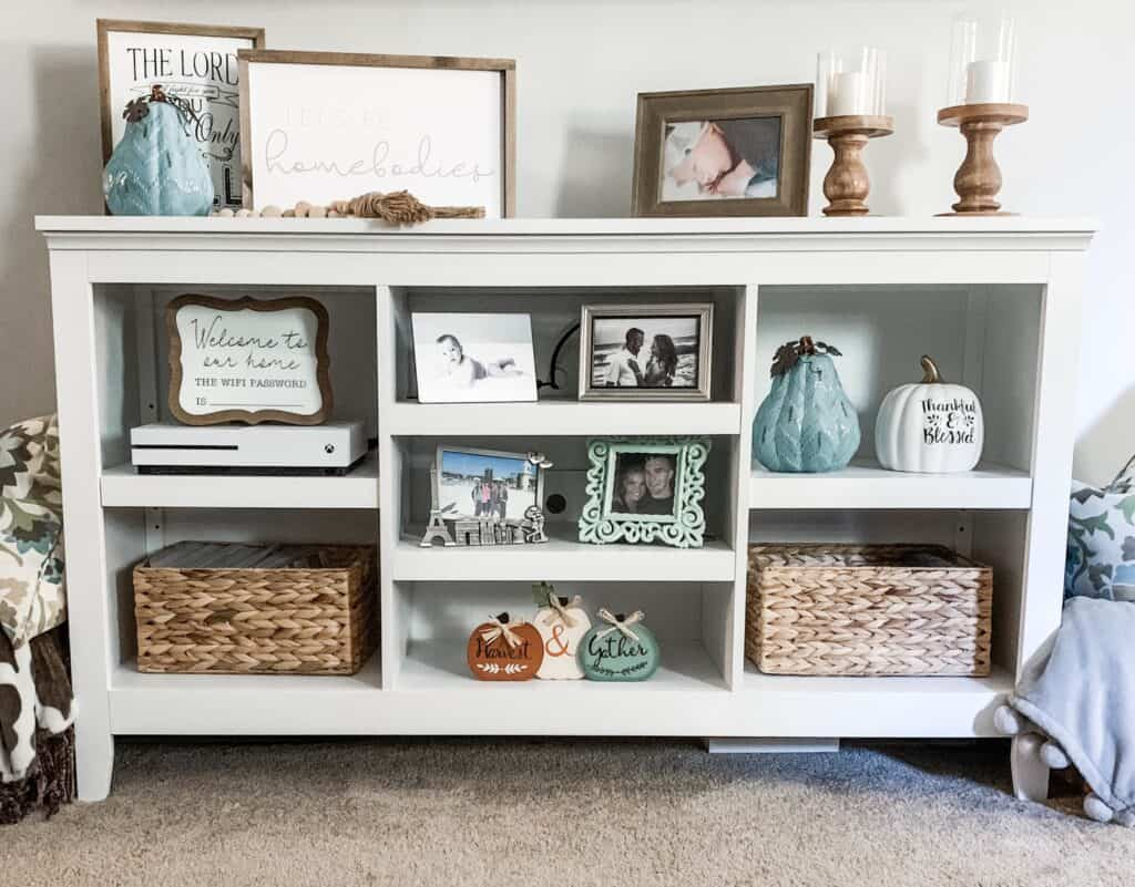 Entertainment Center with DVD storage ideas.