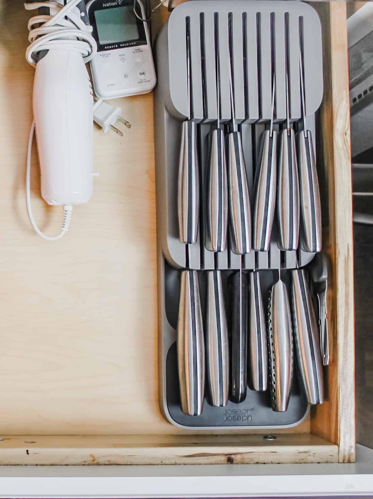Knife Organizer Kitchen Organizer for less than $20
