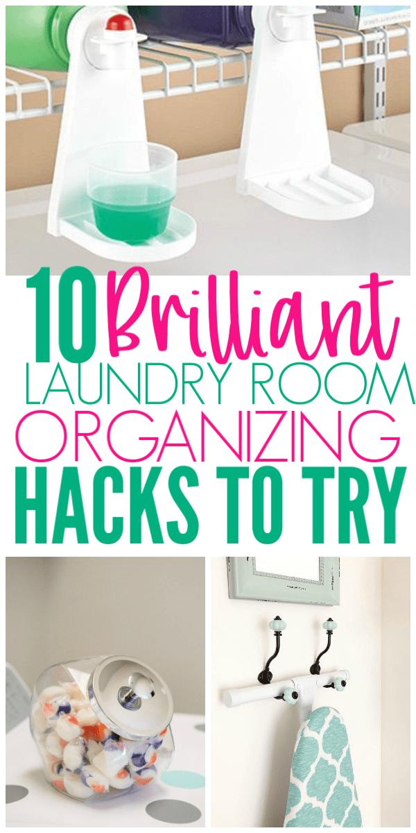 Laundry Room Organizing Tips & Ideas