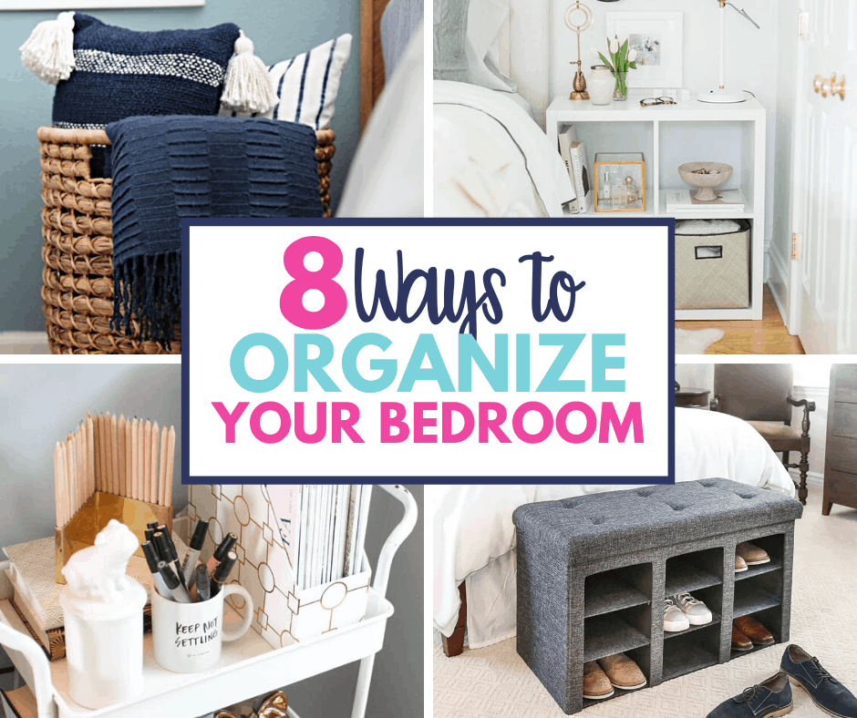 8 Ways To Simplify Organize Your Master Bedroom Organization Obsessed