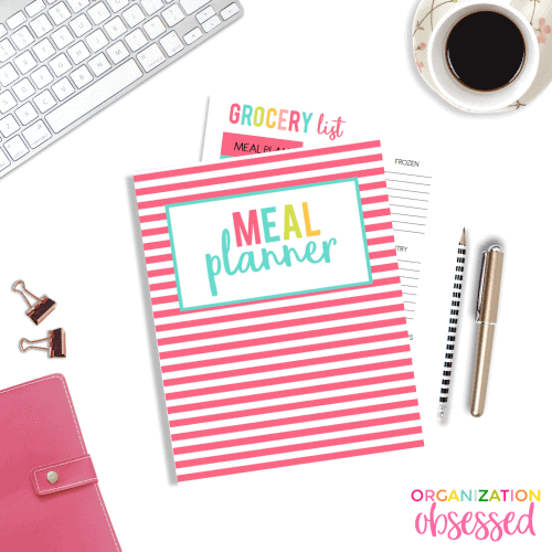 Meal Planning Printable Binder