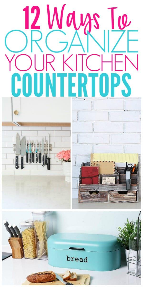 How To Organize Bathroom Countertop