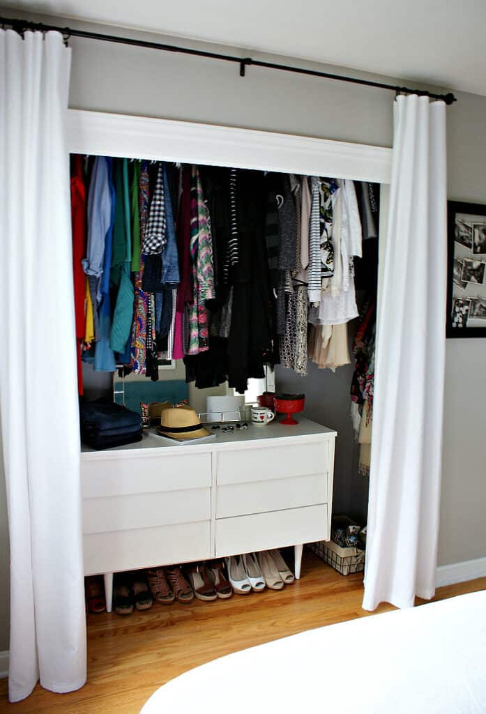 Organize Small Spaces Closets