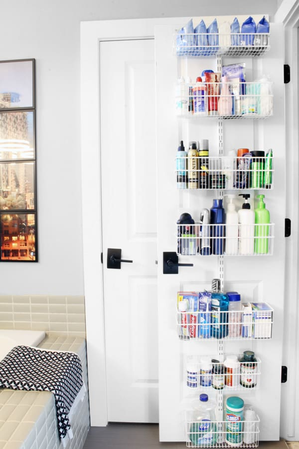 Organizing Small Spaces - Door Organizers