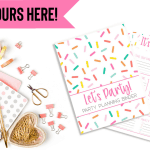 Free Printable Party Planner