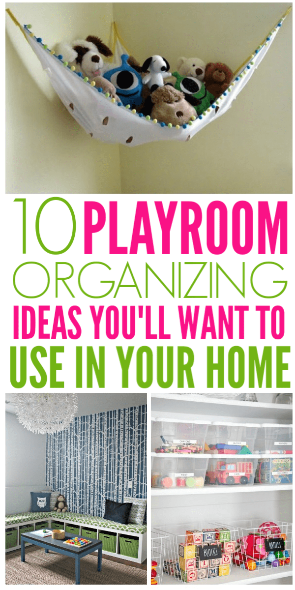 Playroom Organizing Ideas You Must See