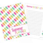 Free Summer Planner Printable