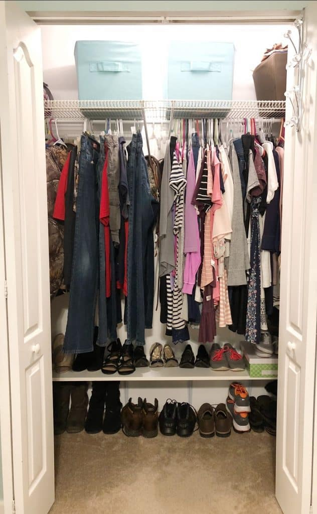How To Organize Your Shared Closet