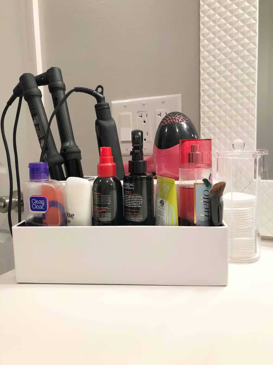 Bathroom Makeup & Vanity Organization