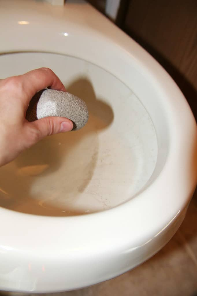 pumice stone cleaning hack