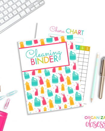 Take Control Of Your Home With A Cleaning Binder