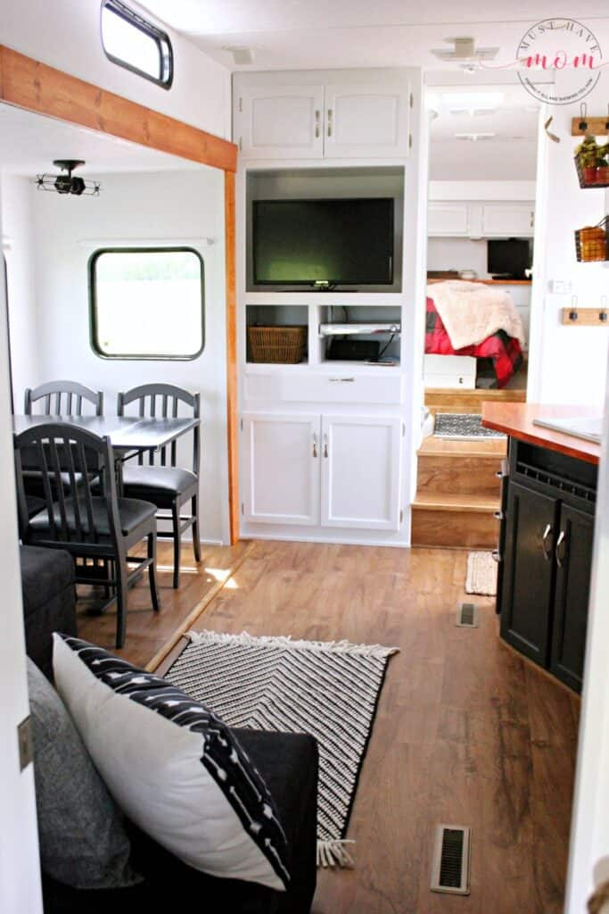 Camper Remodel Ideas That Will Inspire You To Remodel Your Own Organization Obsessed