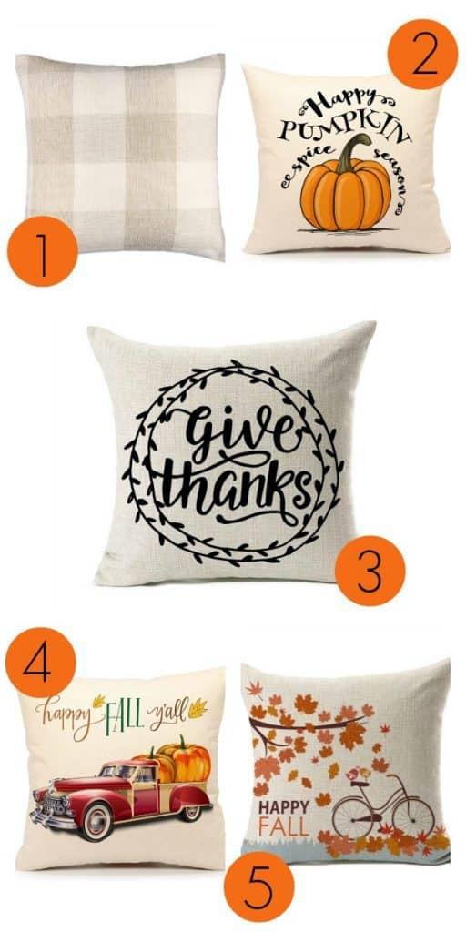 Cheap Decorative Pillows Under 10 Enchanting Cheap Fall Throw Pillows For Less Than 60 Dollars Organization