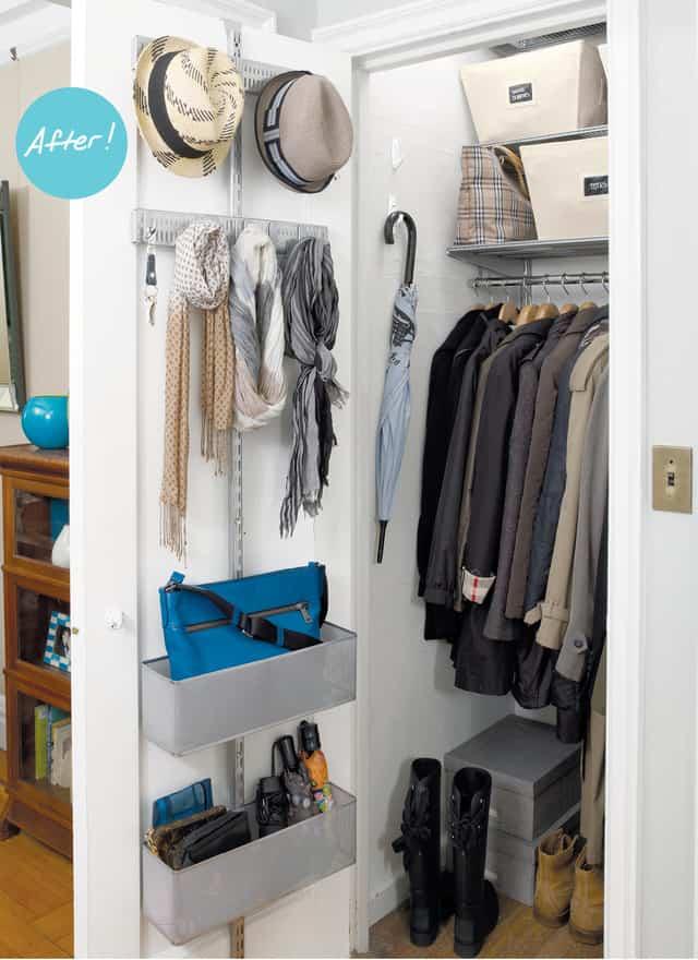 closet organization ideas coat closet
