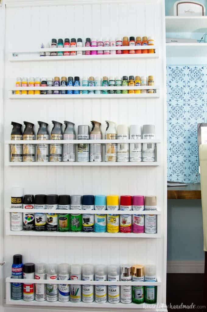 Craft Room Organization Ideas for Paint